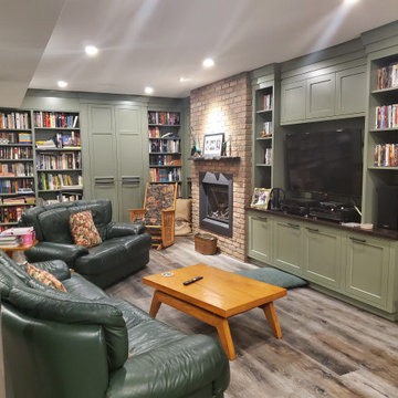 The Organized Family Room