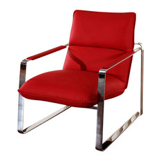 vig furniture divani casa dunn modern red leather lounge chair indoor chaise lounge chairs chaise lounge sofa modern