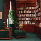 custom library bucks county pa estate traditional home office