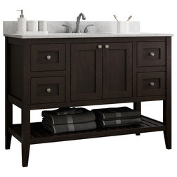 Transitional Bathroom Vanities And Sink Consoles by CNC Cabinetry