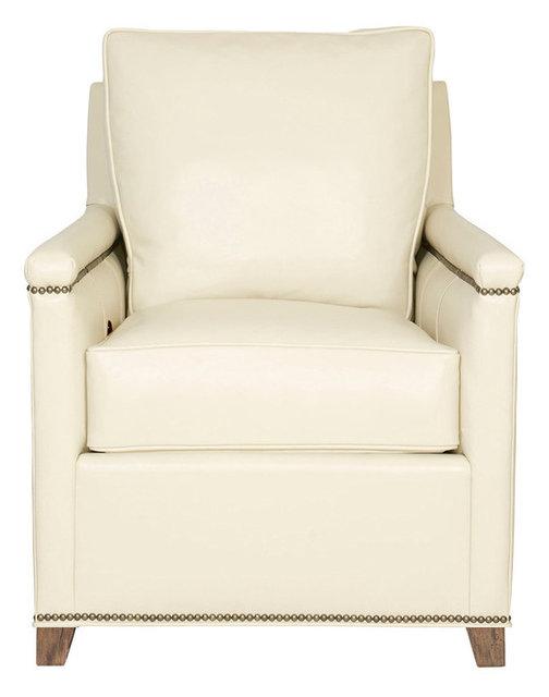 Vanguard Furniture Liz Tilt Back Chair, Ambition Cream