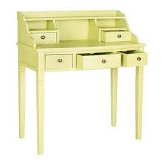 safavieh safavieh landon writing desk split pea desks and hutches