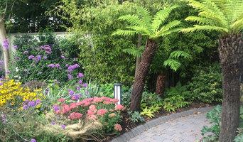Elegant North Facing Garden
