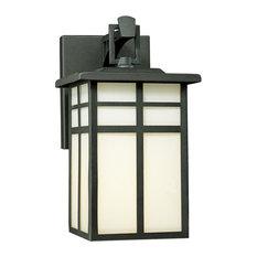 Thomas Lighting SL9104 1 Light Outdoor Wall Sconce - Black
