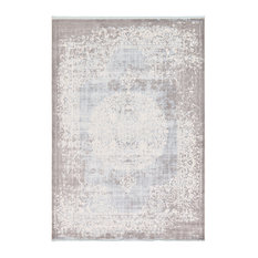 Unique Loom Light Blue Olwen New Classical 8' 0 x 11' 4 Area Rug