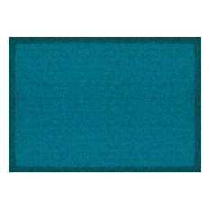 Clean Keeper Doormat, Turquoise, Large