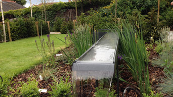 Garden with Focal Water Feature