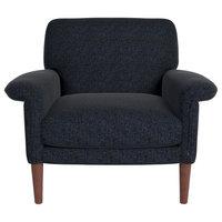 Efron Accent Chair, Dark Gray