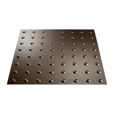 "24""x24"" Fasade Dome Lay-in Ceiling Tile, Argent Bronze"