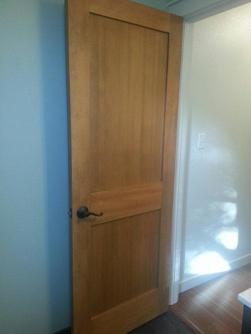 Douglas Fir 2 Panel Shaker Door   Interior Doors