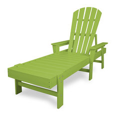 POLYWOOD South Beach Chaise in Lime