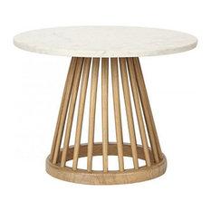 - ファン テーブル ナチュラル オーク - コーヒーテーブル・アクセントテーブル