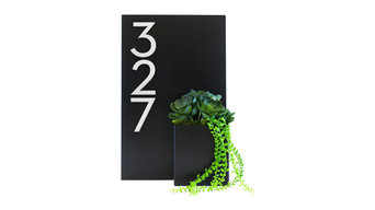 """Curb Appeal House Number Plaque, 12""""Wx20""""H"""