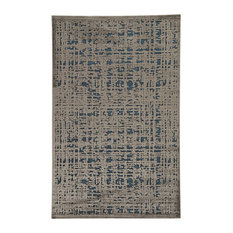 Jaipur Living Dreamy Abstract Gray/Blue Area Rug, 9'x12'