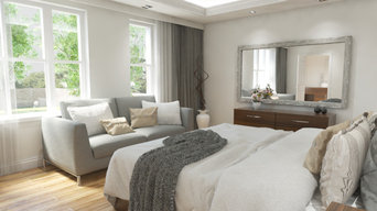 Eagle Brow Master Bedroom CGI Visual