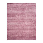 Large Rectangular Area Rug in Pink