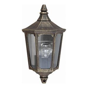 Cricklade Half Lantern Wall Light
