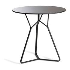 OASIQ SERAC 72 Dining Table, Frame: White, Top: Ceramic White
