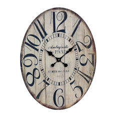 Rustic Wall Clocks Houzz