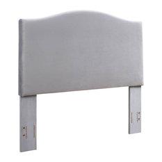 Bellingham Camelback Upholstered King/California King Headboard Shale Microfiber