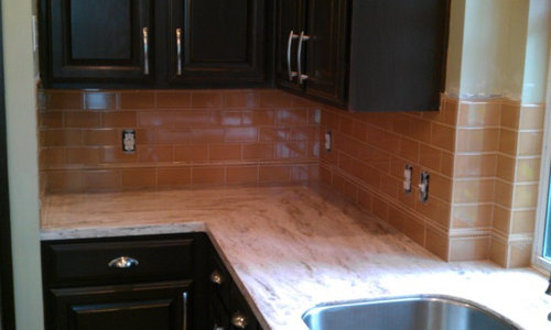 KITCHEN - Backsplash - Ceramic Sub-way Tile