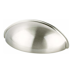 Advantage Plus Cup Pull 64 mm Center to Center, Brushed Nickel