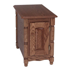 Solid Oak Country Style End/Lamp Table Autumn Oak