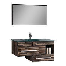Legion Furniture - Sink Vanity With Mirror - Bathroom Vanities and Sink  Consoles