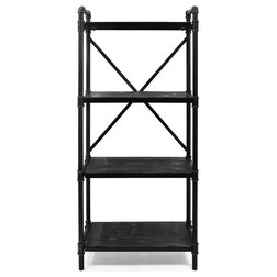 Industrial Bookcases by GDFStudio