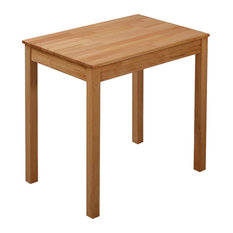 Traditional Stylish Dining Table, Solid Beech Wood, Natural Finished Colour