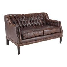 Vintage Leather Fiona Sofa