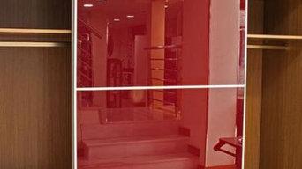 Exposición de las tiendas en Santander
