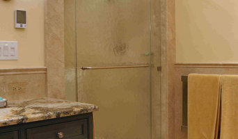 Bluebell Kitchens Glass Shower Door