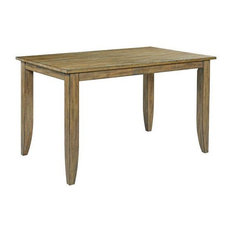 Kincaid The Nook 60-inch Counter Height Table Oak 663-762