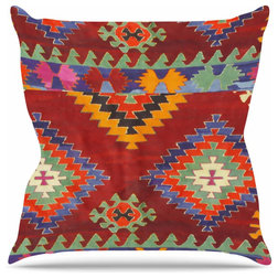 Southwestern Outdoor Cushions And Pillows by KESS Global Inc.