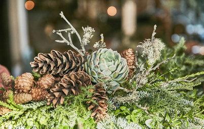 Своими руками: Новогодний декор из шишек и хвои — как в Дании