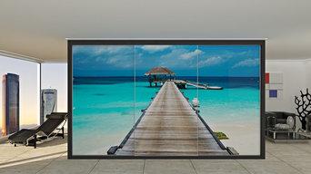 Armarios con puertas deslizantes personalizados con imagen digital Modelo A700