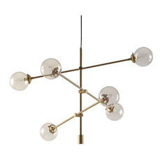 Ink and Ivy Cyrus Chandelier, Gold