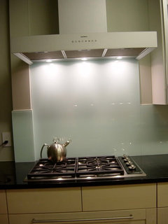 Glass Backsplash Not Glass Tile Questions Thanks