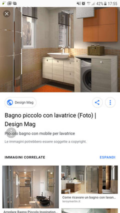 Lavandino Con Sotto Lavatrice.Lavatrice E Asciugatrice Sotto Lavandino