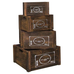 Mediterranean Storage Boxes by Mobili Rebecca