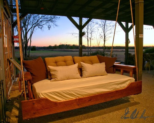 Ru0026R Reclaimed Wood Swing Bed   Patio Furniture And Outdoor Furniture