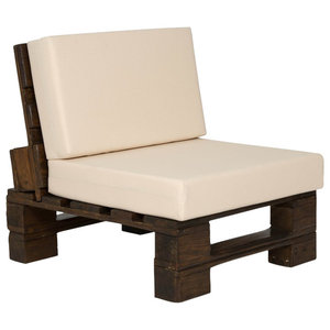 Eur Indian Outdoor Padded Chair