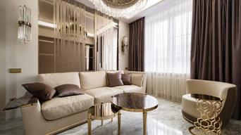 Квартира на Унивеситетском в стиле Ар-деко