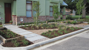 Weeds to Rich Garden of beautiful boulders and native plants!