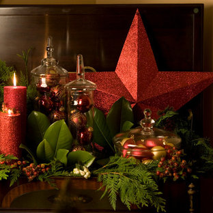 Inspiration for an eclectic home design remodel in Portland. Save Photo. elegant christmas decor
