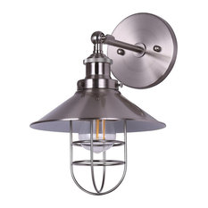 Marazzo Wall Sconce, Brushed Nickel