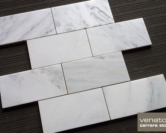 Carrara Venato Marble Tile