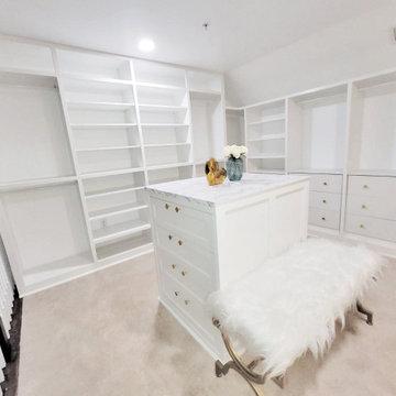 White Closet Build