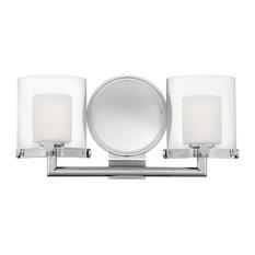 Hinkley Rixon Bath 2-Light Vanity, Chrome
